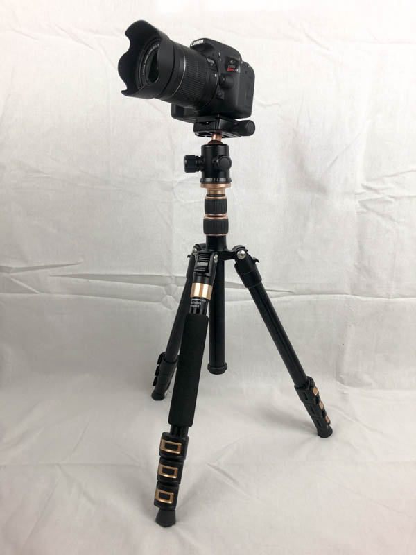A DSLR camera needs to be on a tripod for astrophotography.